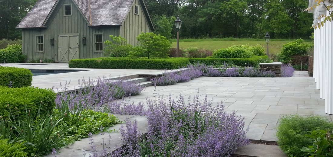 Photo of custom landscape design